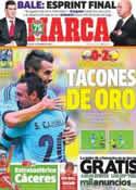Portada diario Marca del 15 de Agosto de 2013