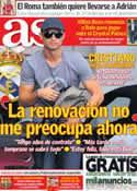 Portada diario AS del 16 de Agosto de 2013