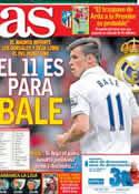 Portada diario AS del 17 de Agosto de 2013