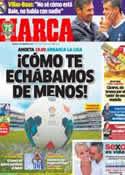 Portada diario Marca del 17 de Agosto de 2013