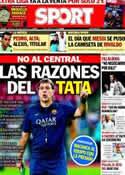 Portada diario Sport del 17 de Agosto de 2013