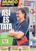 Portada Mundo Deportivo del 17 de Agosto de 2013