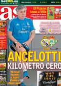 Portada diario AS del 18 de Agosto de 2013