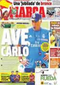 Portada diario Marca del 18 de Agosto de 2013