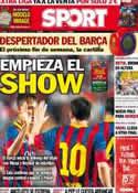 Portada diario Sport del 18 de Agosto de 2013