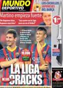 Portada Mundo Deportivo del 18 de Agosto de 2013