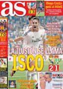 Portada diario AS del 19 de Agosto de 2013