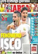 Portada diario Marca del 19 de Agosto de 2013