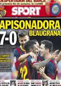 Portada diario Sport del 19 de Agosto de 2013
