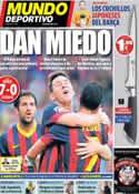 Portada Mundo Deportivo del 19 de Agosto de 2013