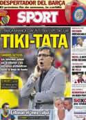 Portada diario Sport del 20 de Agosto de 2013