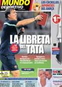 Portada Mundo Deportivo del 20 de Agosto de 2013