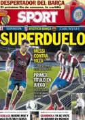 Portada diario Sport del 21 de Agosto de 2013