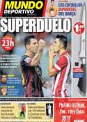 Portada Mundo Deportivo del 21 de Agosto de 2013