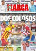 Portada diario Marca del 22 de Agosto de 2013