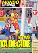 Portada Mundo Deportivo del 22 de Agosto de 2013