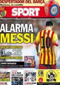 Portada diario Sport del 23 de Agosto de 2013