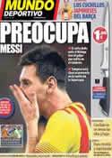 Portada Mundo Deportivo del 23 de Agosto de 2013