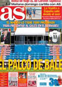 Portada diario AS del 24 de Agosto de 2013