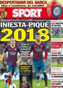 Portada diario Sport del 24 de Agosto de 2013