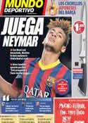 Portada Mundo Deportivo del 24 de Agosto de 2013