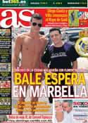 Portada diario AS del 25 de Agosto de 2013