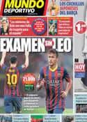Portada Mundo Deportivo del 25 de Agosto de 2013
