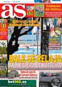 Portada diario AS del 26 de Agosto de 2013