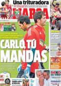 Portada diario Marca del 26 de Agosto de 2013