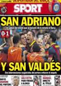 Portada diario Sport del 26 de Agosto de 2013