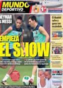 Portada diario Sport del 27 de Agosto de 2013
