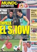 Portada Mundo Deportivo del 27 de Agosto de 2013