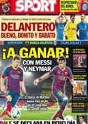 Portada diario Sport del 28 de Agosto de 2013