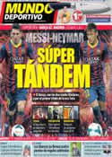 Portada Mundo Deportivo del 28 de Agosto de 2013