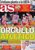 Portada diario AS del 29 de Agosto de 2013