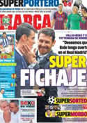 Portada diario Marca del 29 de Agosto de 2013