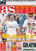 Portada diario AS del 30 de Agosto de 2013