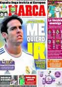 Portada diario Marca del 30 de Agosto de 2013