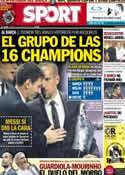 Portada diario Sport del 30 de Agosto de 2013