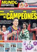 Portada Mundo Deportivo del 30 de Agosto de 2013