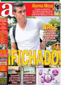 Portada diario AS del 31 de Agosto de 2013