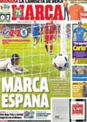 Portada diario Marca del 31 de Agosto de 2013