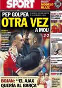 Portada diario Sport del 31 de Agosto de 2013