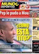 Portada Mundo Deportivo del 31 de Agosto de 2013