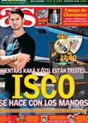 Portada diario AS del 1 de Septiembre de 2013