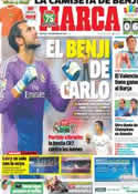 Portada diario Marca del 1 de Septiembre de 2013