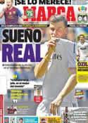 Portada diario Marca del 3 de Septiembre de 2013