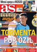 Portada diario AS del 4 de Septiembre de 2013