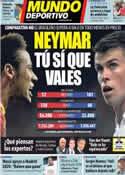 Portada Mundo Deportivo del 4 de Septiembre de 2013