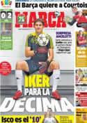 Portada diario Marca del 5 de Septiembre de 2013